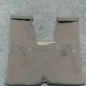 Nine West Vintage American Denim Tan Jeans
